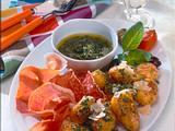 Röstkartoffeln mit Pesto und Schinken Rezept