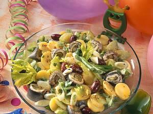 Rollmops-Kartoffelsalat Rezept