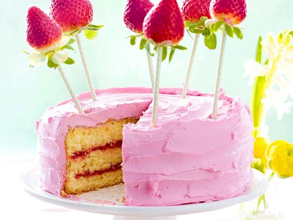 Rosa Erdbeer-Träumchen Rezept