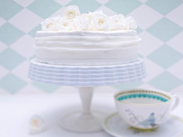 Rosen-Torte Rezept