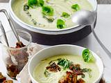 Rosenkohl-Creme-Suppe Rezept