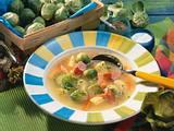 Rosenkohl-Kartoffelsuppe Rezept
