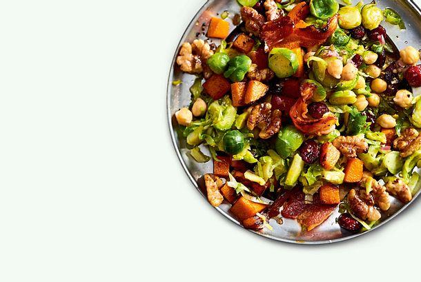 Rosenkohl-Kürbis-Salat Rezept