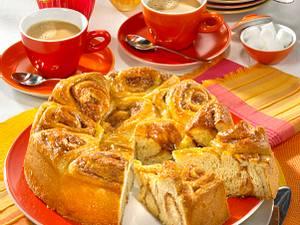 Rosenkuchen mit Mandeln (Diabetiker) Rezept