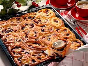 Rosetten-Kirsch-Kuchen Rezept
