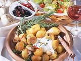Rosmarin-Kartoffeln mit Knoblauch-Dip Rezept