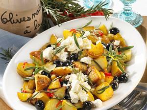 Rosmarin-Kartoffeln vom Blech Rezept