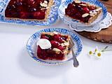 Rote-Grütze-Kuchen Rezept