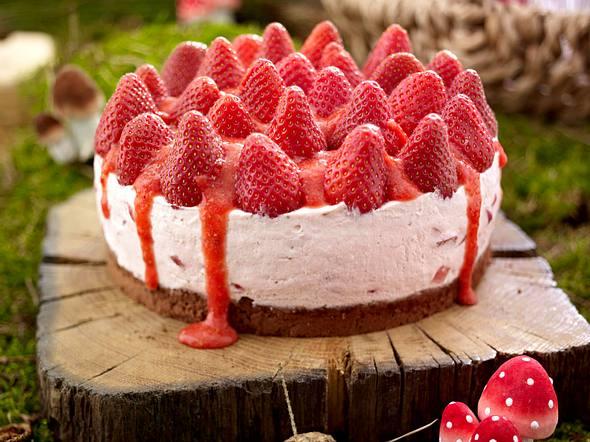 Rotkäppchen-Torte mit Püree Rezept