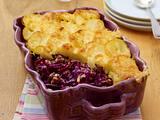 Rotkohl-Kartoffel-Lasagne Rezept
