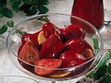 Rotweinbirnen Rezept