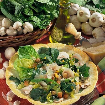 Ruccola-Salat mit Parmesan Rezept
