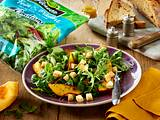 Rucola-Radicchio-Salat mit Kürbis Rezept