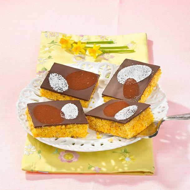 Rübli-Blechkuchen Rezept