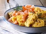 Rührei mit Shrimps Rezept