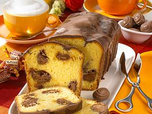 Rührkuchen mit Karamellkern Rezept