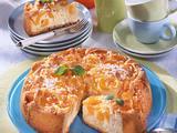 Rührkuchen mit versunkene Aprikosen Rezept