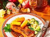 Rumpsteak mit Mandel-Broccoli Rezept