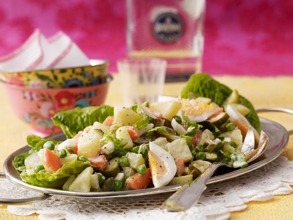 Russischer Salat Rezept