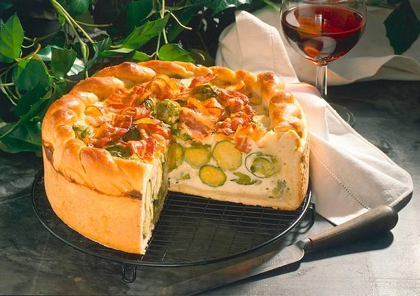 Saftige Rosenkohl-Torte Rezept