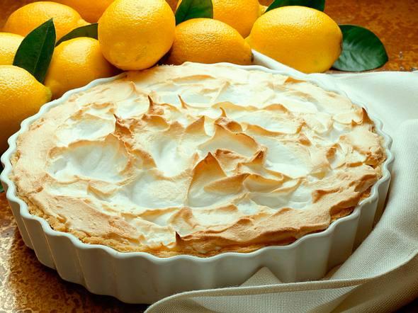 Saftige Zitronen-Pie Rezept