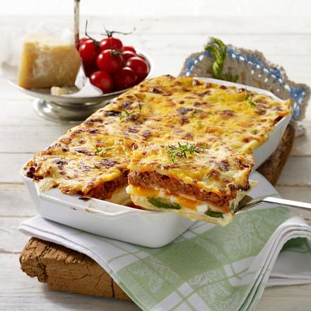 saftige zucchini hack lasagne rezept lecker. Black Bedroom Furniture Sets. Home Design Ideas