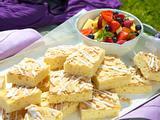 Saftiger Butterkuchen (Picknick Außenproduktion) Rezept