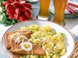 Saftiger Kartoffelsalat mit Fleischkäse Rezept