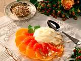 Sahne-Dickmilch mit Grapefruit und Mandarinen Rezept