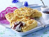 Sahne-Mandel-Butterkuchen Rezept