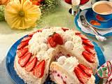 Sahnige Erdbeer-Raffaello-Torte Rezept