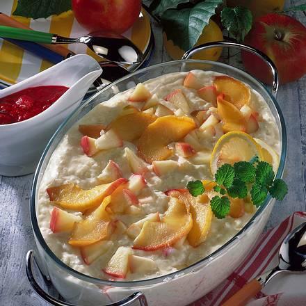 Sahniger Apfel-Milchreis Rezept