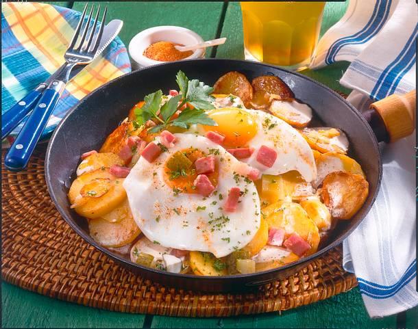 Sahniges Bauernfrühstück Rezept
