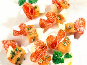 Salami-Spießchen Rezept