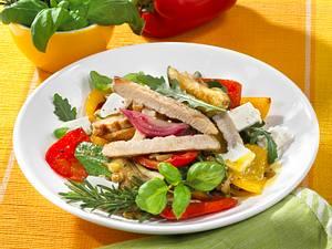 Salat aus Grillgemüse Rezept