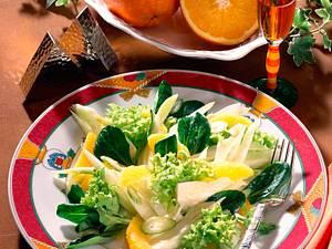 Salat mit Fenchel und Orangenfilets Rezept