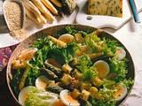Salat mit Sesamvinaigrette Rezept