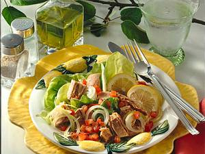 Salat mit Thunfisch Rezept