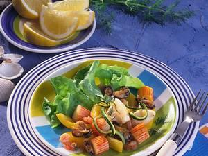 Salatteller Frutti di Mare Rezept