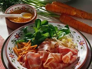 Salatteller mit Schweinebauch und Chili-Vinaigrette Rezept