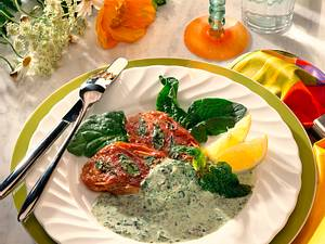 Saltimbocca mit Spinatsoße Rezept