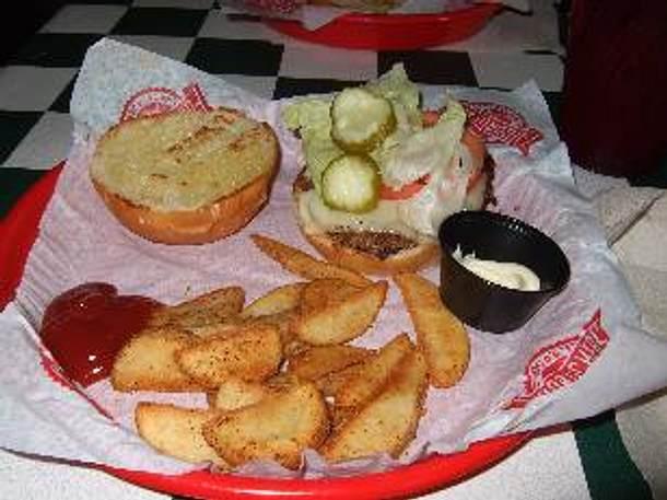 Sandras All-American Burger Rezept