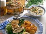 Sauerfleisch mit Bratkartoffeln Rezept