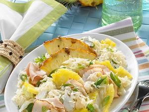 Sauerkraut-Ananas-Salat Rezept