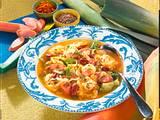 Sauerkraut-Bohnensuppe Rezept