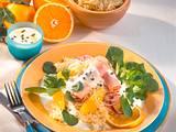 Sauerkraut-Salat mit Kasseler-Röllchen Rezept