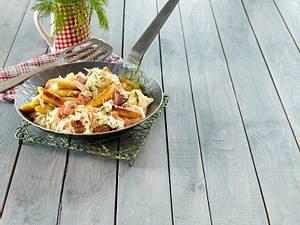 Sauerkraut-Schupfnudel-Pfanne Rezept