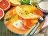 Schaumomelett mit Zitrusfrüchten Rezept