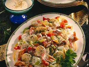 Schillerlocken-Salat Rezept