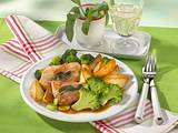 Schinken-Schnitzelchen mit Broccoli Rezept